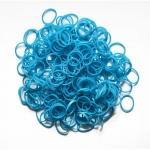Elastice Rainbow Loom Metalic Albastru-300 buc