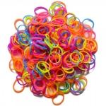 Elastice Rainbow Loom Neon Mix 300 buc.