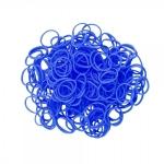 Elastice Rainbow Loom Standard Albastru-ocean-600 buc