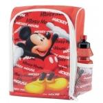 Ghiozdan gradinita Mickey Mouse BBS 121100 cu licenta si sticluta apa inclusa