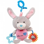 Jucarie muzicala din plus Grey Rabbit