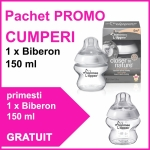 Pachet PROMO Biberon 150 ml + Biberon 150 ml GRATUIT
