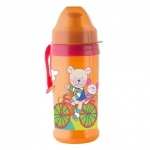 Pahar cu supapa Active sport CoolFrends Raspberry 360ml.12L+ Rotho-babydesign