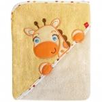 Prosop cu capison 76x76 cm Bobobaby Girafa Crem