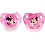 Set 2 suzete Minnie 6 luni Lulabi 8113100