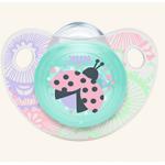 Suzeta din silicon Trendline Adore, asortate, mar. 2 (6-18 luni)