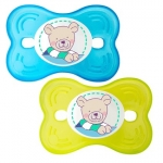 Suzeta silicon Butterfly 6L+ 2/set aquamarine Rotho-babydesign