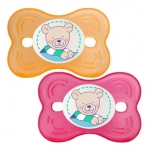 Suzeta silicon Butterfly 6L+ 2/set raspberry Rotho-babydesign