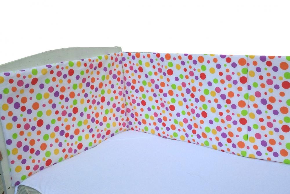 Aparatoare laterala 140×70 cm Buline rozalii din categoria Camera copilului de la DESEDA