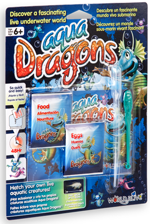 Set Reincarcare Aqua Dragons World Alive W4004