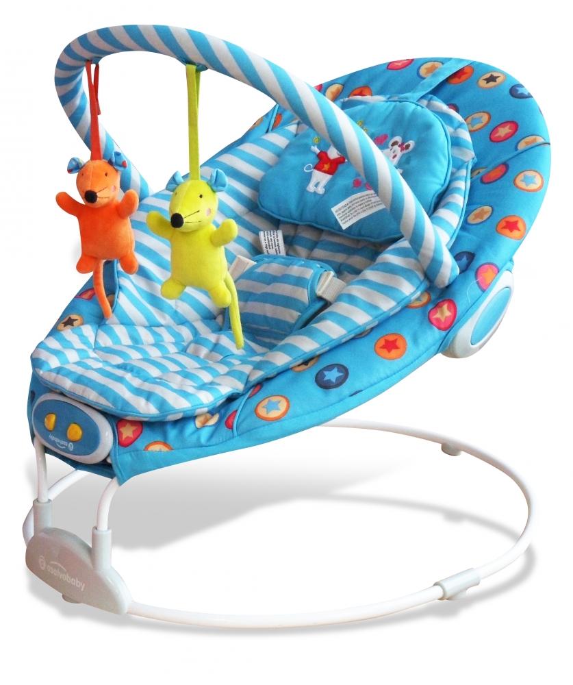 Balansoar pentru bebelusi cu muzica Mice Blue