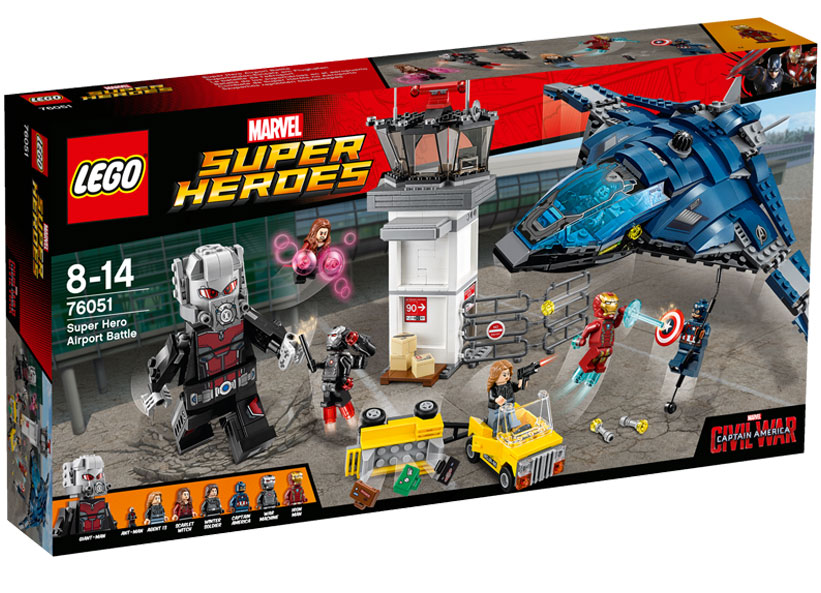 Batalia de la aeroportul Super Heroes (76051)