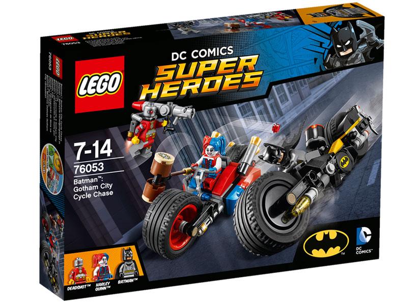 Batman Urmarire Cu Motocicleta In Orasul Gotham (76053)