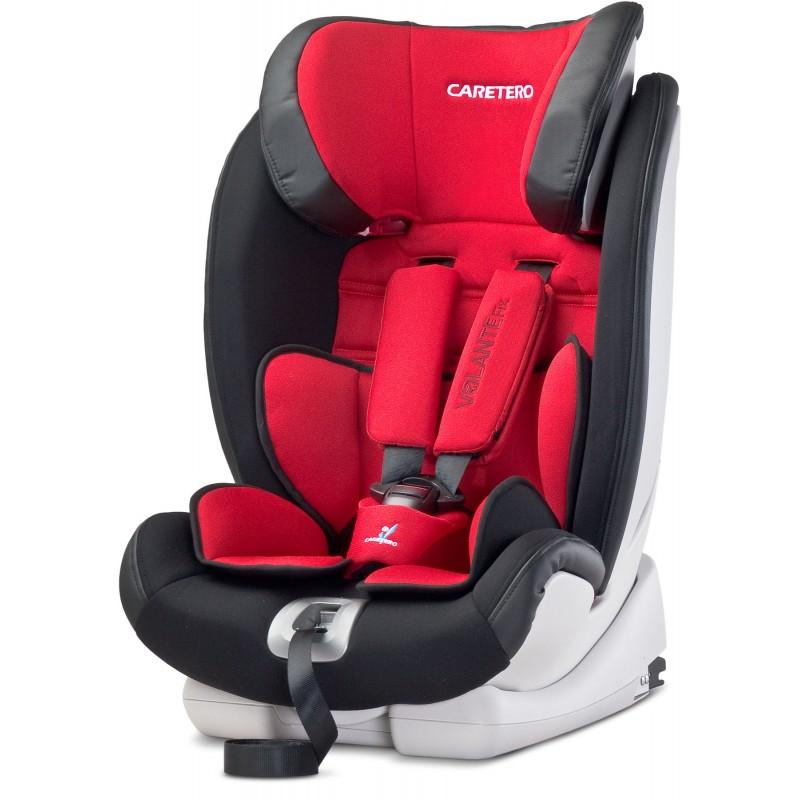 Scaun auto Caretero VolanteFix Isofix Red