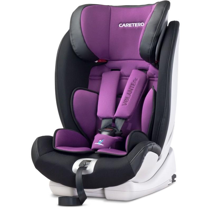 Scaun auto Caretero VolanteFix Isofix Purple