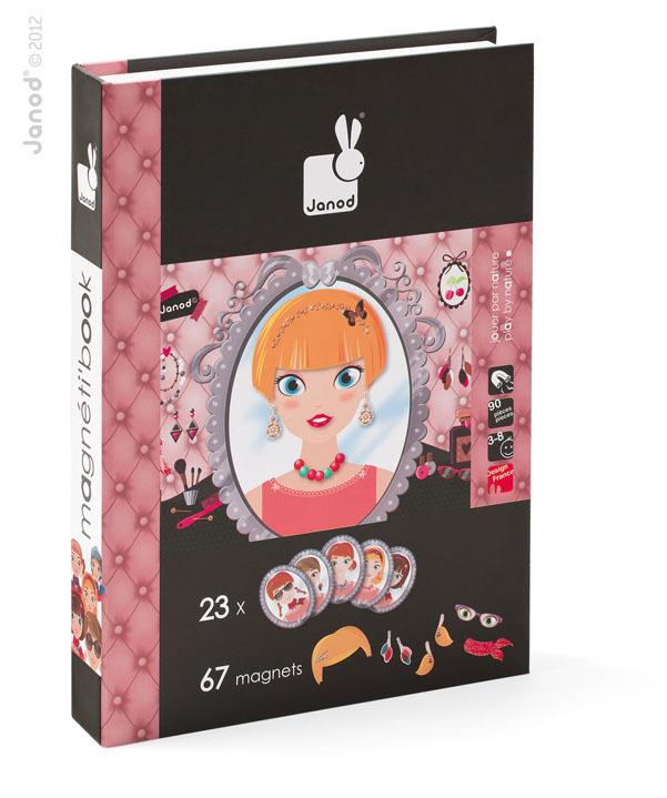 Carte Magnetica Maxi - Domnisoare - JURATOYS - J02834