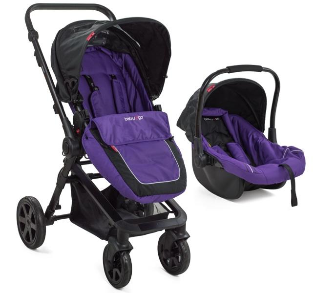 Carucior Copii Transformabil Babygo Purple
