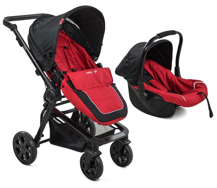 Carucior Copii Transformabil Babygo Red
