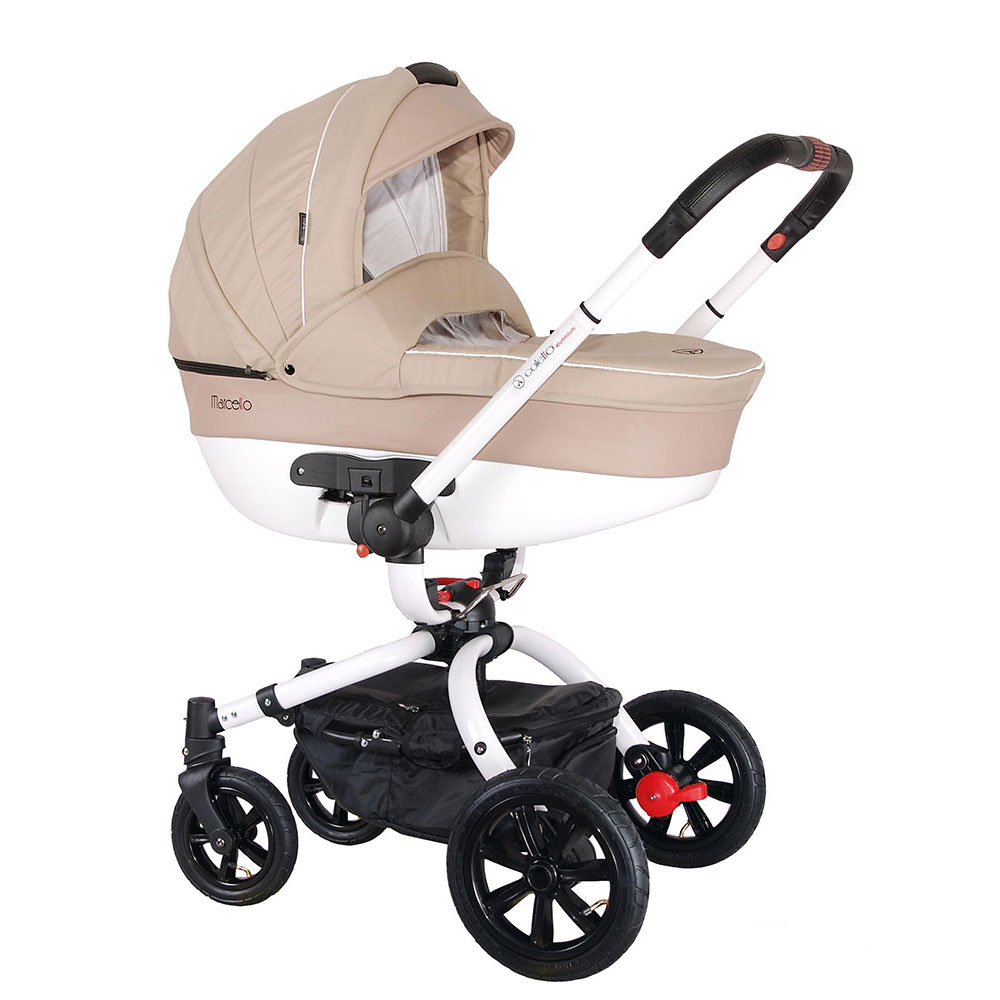 Carucior rotativ Marcello 2 in 1 bej Coletto