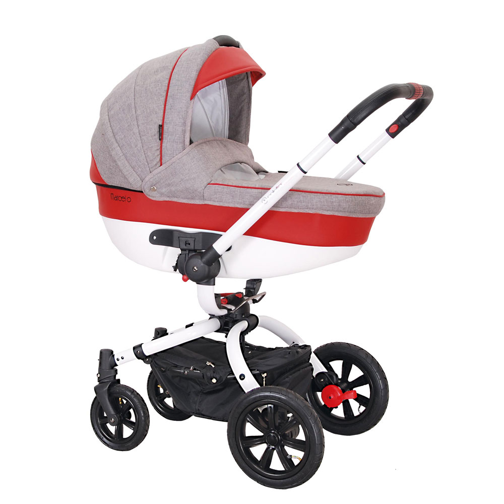 Carucior rotativ Marcello 2 in 1 gri Coletto
