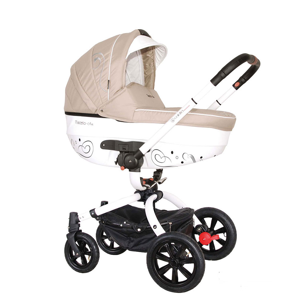 Carucior rotativ Marcello Art 2 in 1 bej Coletto
