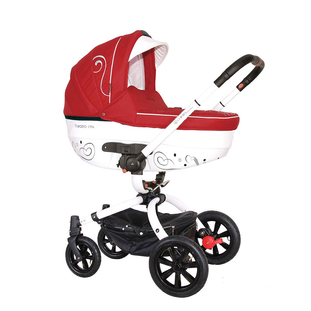 Carucior rotativ Marcello Art 2 in 1 rosu Coletto