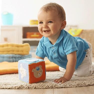Cub cu sunet din plus Rotho babydesign