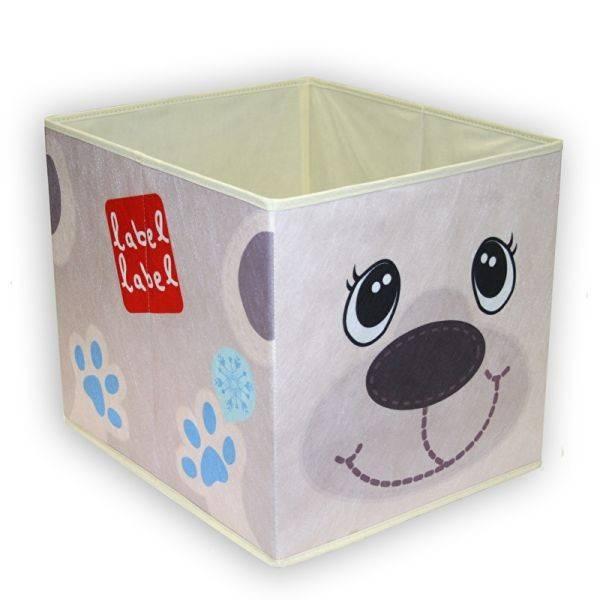 Cutie Depozitare Jucarii Label Label Urs Polar