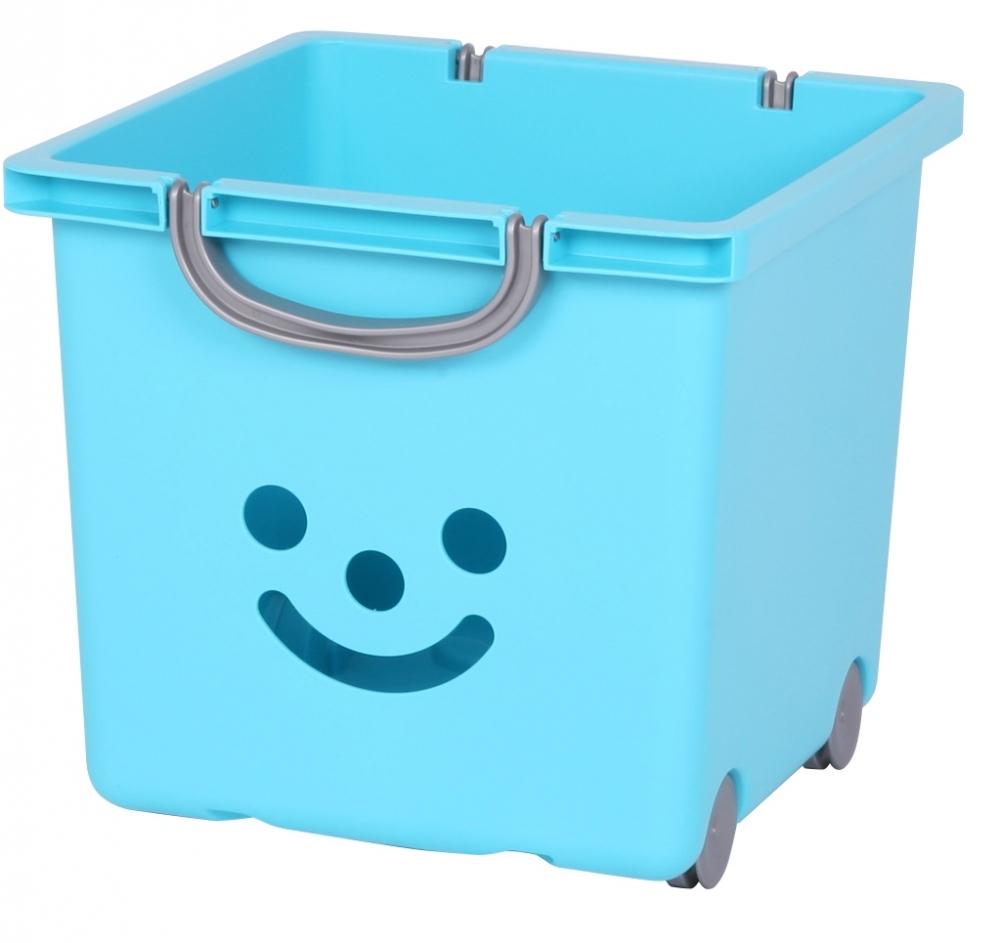 Cutie Jucarii Happy M Albastru