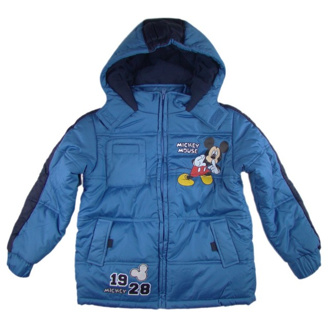 Geaca iarna copii Mickey (Masura 128 (7-8 ani))