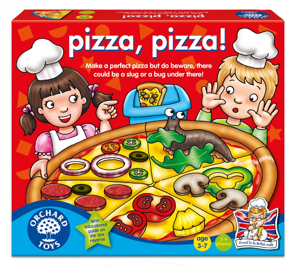 Joc educativ - Pizza, Pizza! (060)