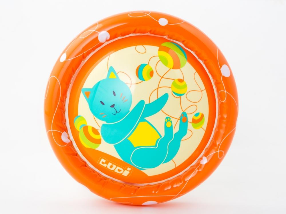 Jucarie gonflabila Roller Pisica LUDI imagine