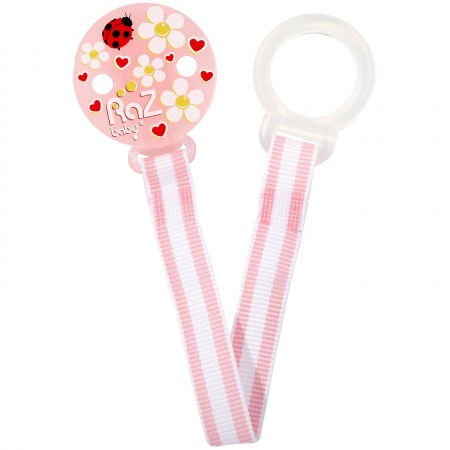 Lantisor pentru suzete pink Pink Flowers