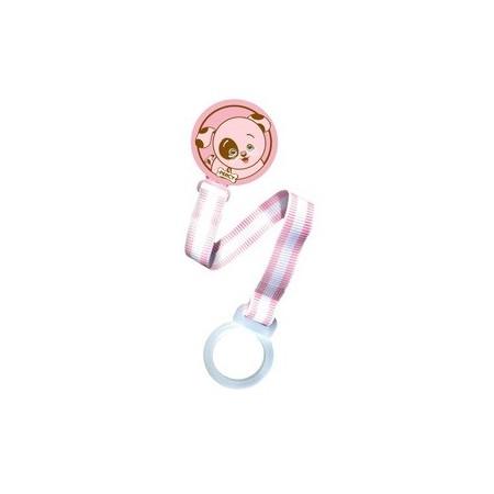 Lantisor pentru suzete pink Pink Puppy