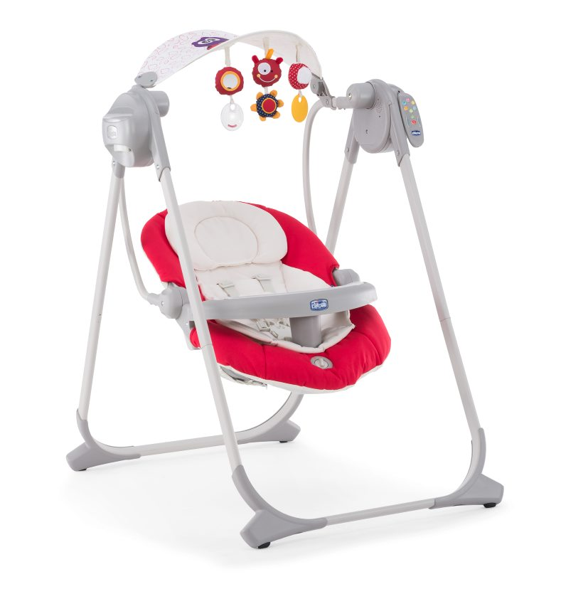 Leagan-balansoar Chicco Polly Swing Up  Paprika