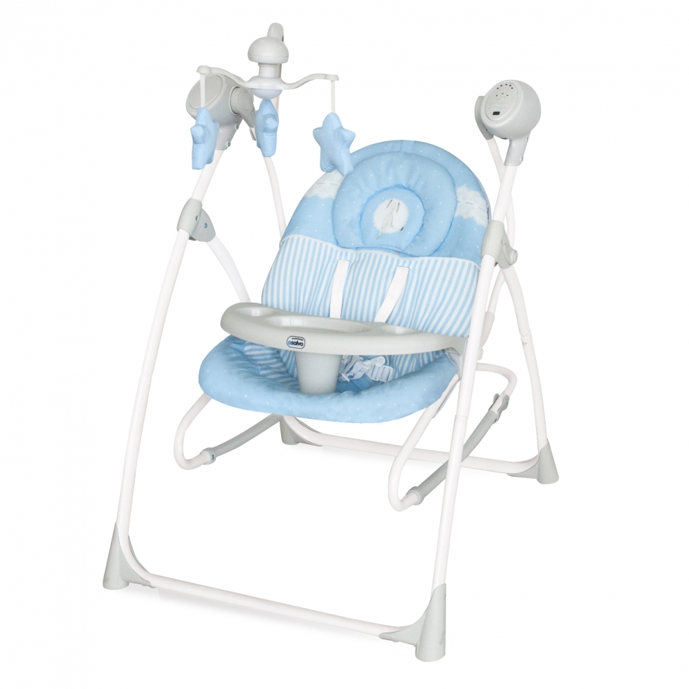 Leagan pentru bebelusi 3 in 1 Baby Swing Blue