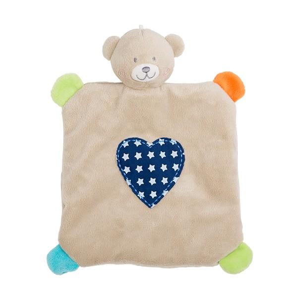 Mini paturica de somn cu jucarie Rotho babydesign