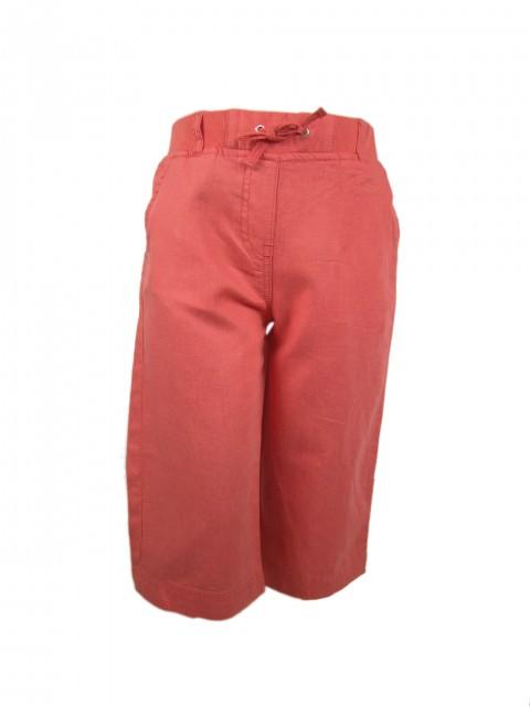 Pantaloni 34 fetite Summer material bumbac si in (Masura 152 (11-12 ani))