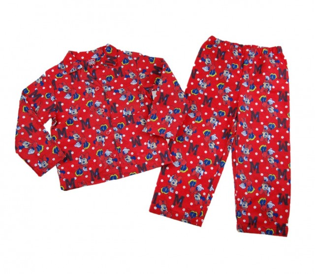Pijama Minnie Mouse (Masura 92 (1.5-2 ani))