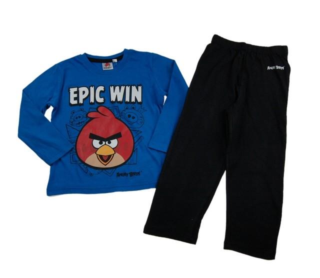 Pijama copii Angry Birds (Masura 104 (3-4 ani))