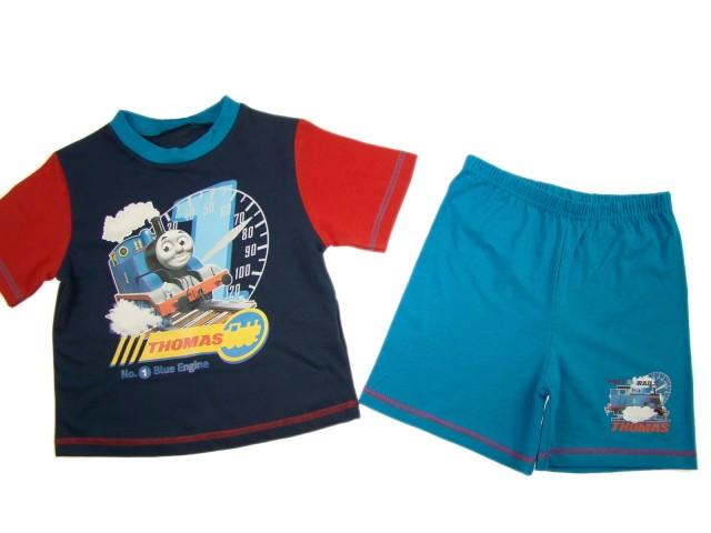 Pijama maneca scurta Thomas (Masura 86 ( 12-18 luni ))