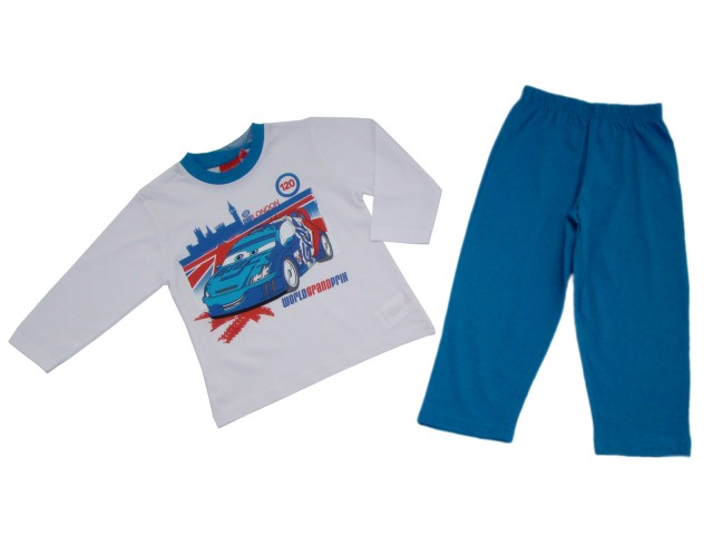 Pijama originala baieti Cars 2 (Masura 86 (18-24 luni))