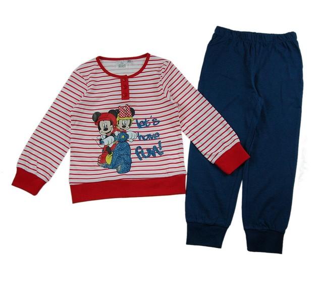 Pijamale Mickey  Minnie (Masura 116 (5-6 ani))