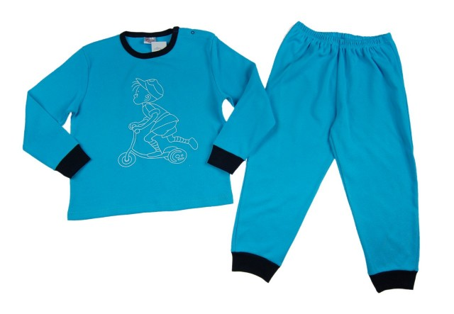 Pijamale baietei Happy Boy (Masura 104 (3-4 ani))