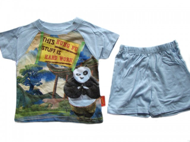 Pijamale baieti Kung-Fu Panda (Masura 110 (4-5 ani))