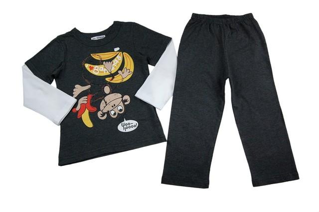 Pijamale baieti Monkey Banana (Masura 98104 (3-4 ani))
