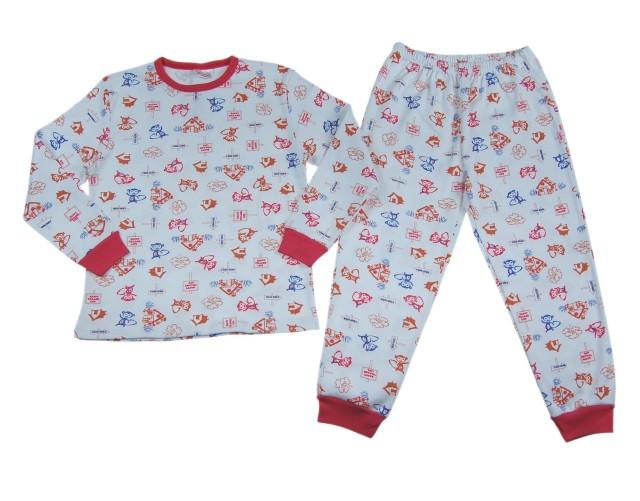 Pijamale copii Happy Life (Masura 116 (5-6 ani))