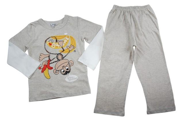 Pijamale copii Monkey Banana (Masura 110116 ( 56 ani))