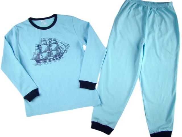 Pijamale copii Sailboat (Masura 116 (5-6 ani))