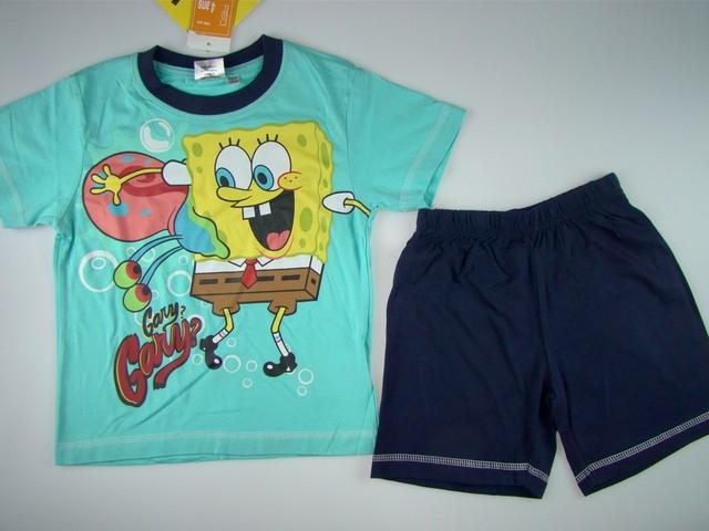 Pijamale copii Sponge Bob (Masura 104 (3-4 ani))